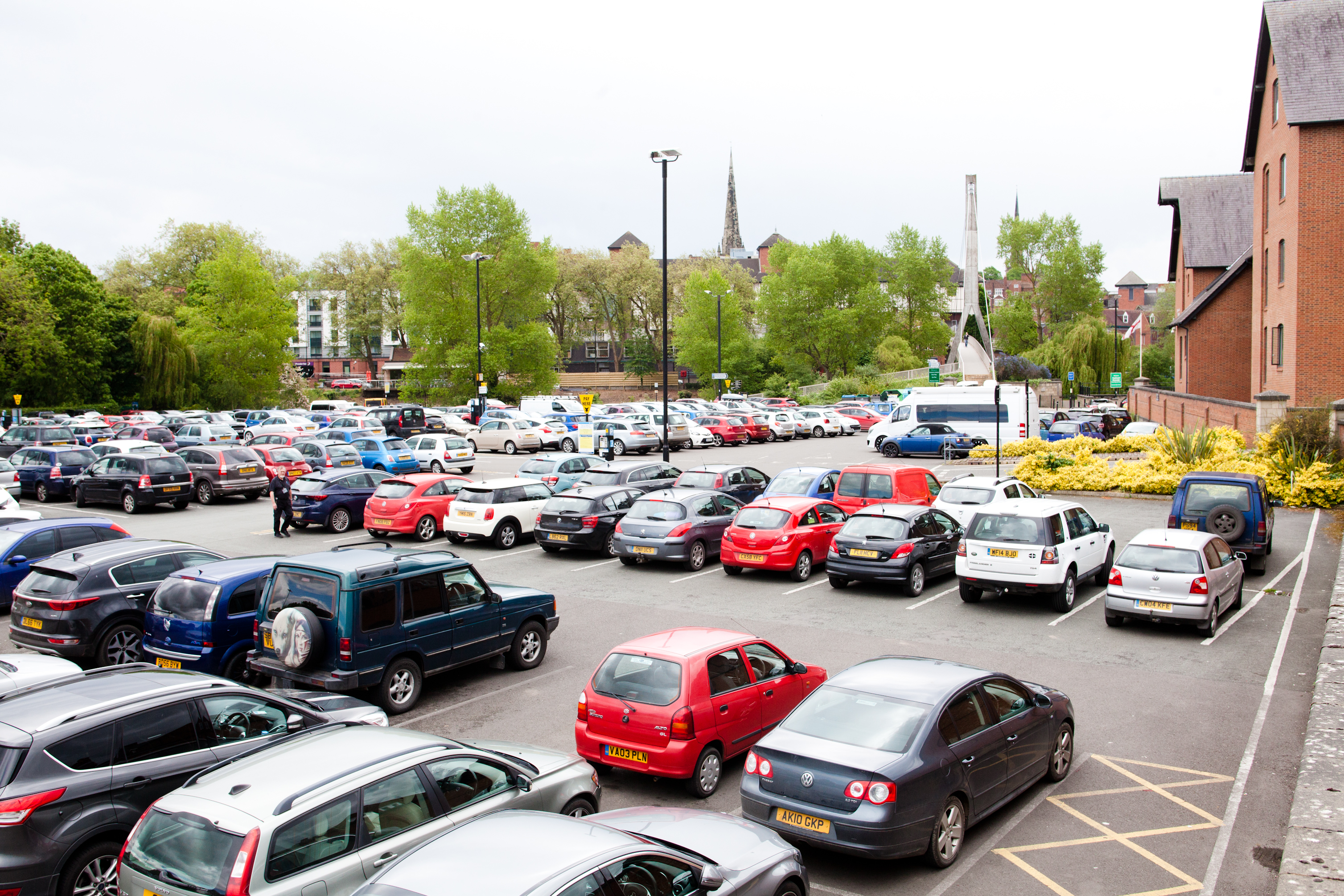 Free Parking Scheme Sees Increase In Visitors To Shrewsbury Shrewsbury Bid